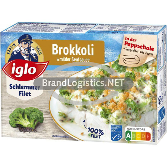iglo Schlemmer-Filet Brokkoli 380g