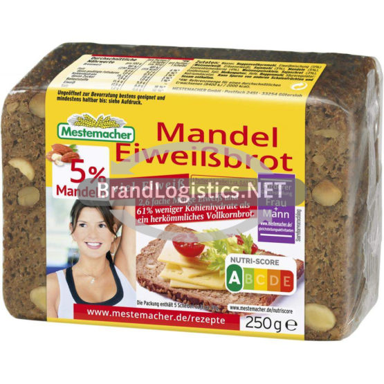 Mandel Eiweißbrot 250g