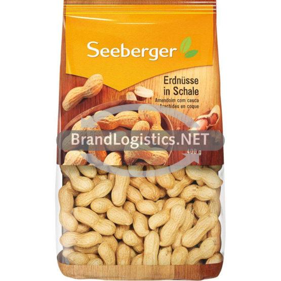Seeberger Erdnüsse in Schale 400g