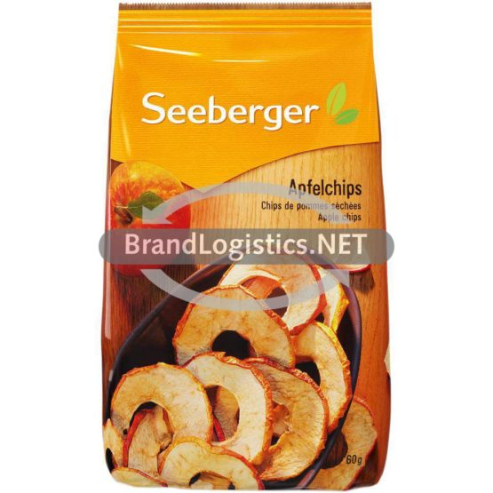 Seeberger Apfel-Chips 60g