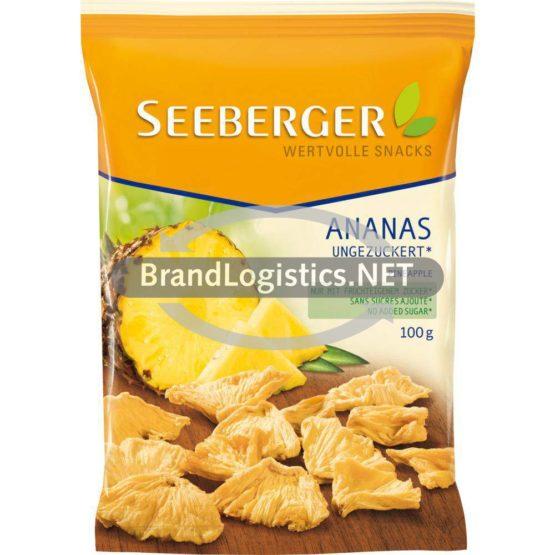 Seeberger Ananas ungezuckert 100g