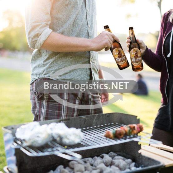 Kozel Premium Lager Moodbild Grill