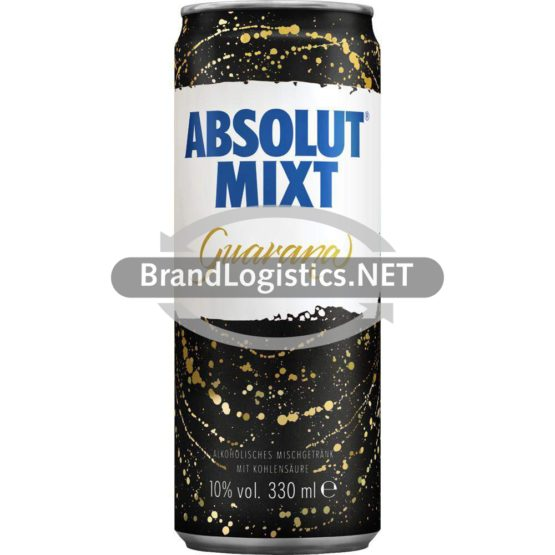 Absolut Mixt Guarana 10% Vol. 0,33l