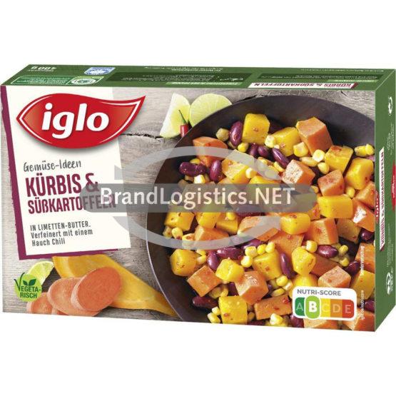 iglo Gemüse-Ideen Kürbis und Süßkartoffeln 400g