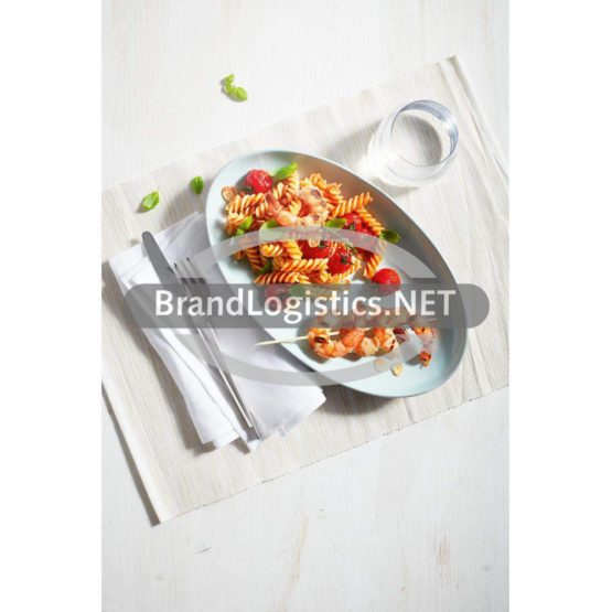 Fusilli-Salat mit Riesengarnelen