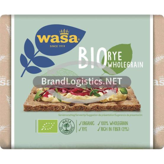 Wasa Bio Roggenvollkorn 180g