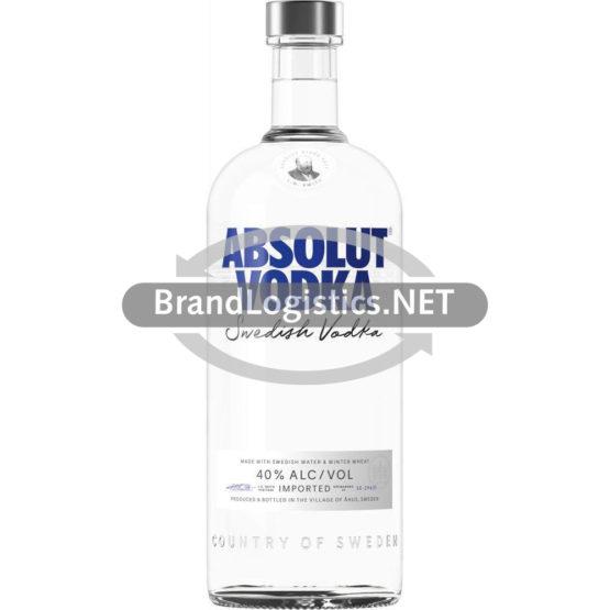 Absolut Vodka  40% vol. 1l
