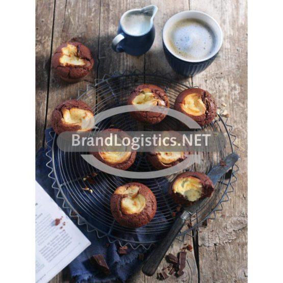 Brownie-Käsekuchen-Muffins