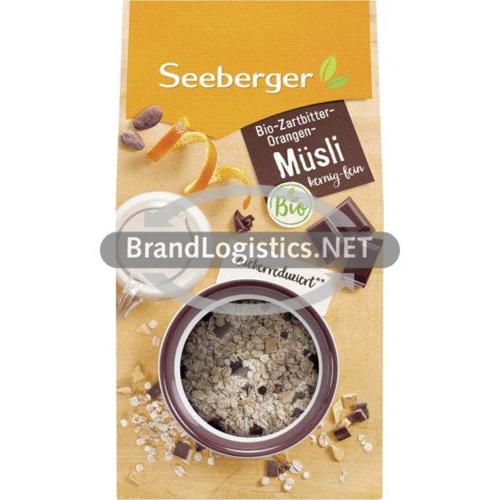 Bio-Zartbitter-Orangen-Müsli 325 g