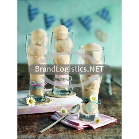 Bananenweizen-Eis
