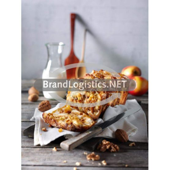 Apfel-Walnuss-Zupfbrot