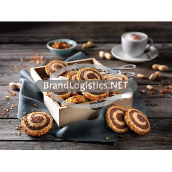 Erdnuss-Knusper-Kringel