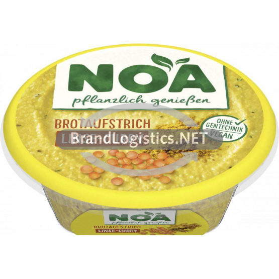 NOA Brotaufstrich Linse-Curry 175g