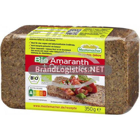 Bio Amaranth + Quinoa-Brot 350g