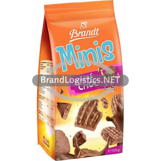 Brandt Minis Double Choc 105g