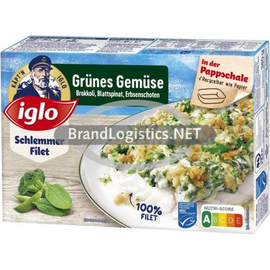 iglo Schlemmer-Filet Grünes Gemüse 380 g