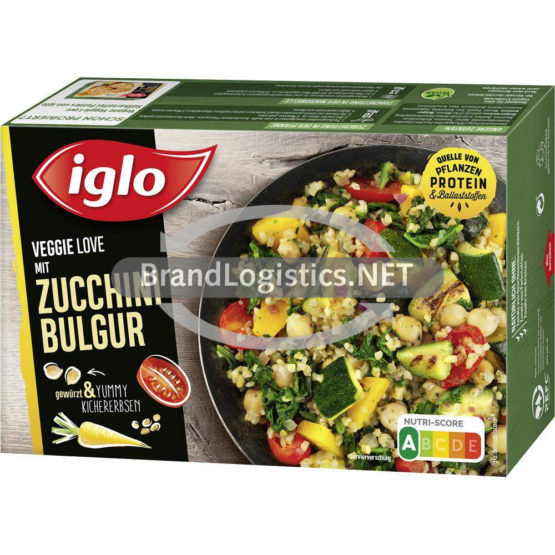 iglo Veggie Love Zucchini Bulgur 400g