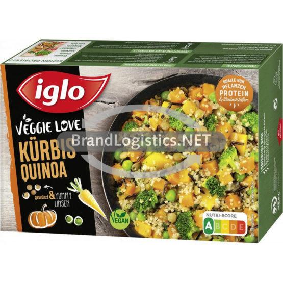 iglo Veggie Love Kürbis Quinoa 400 g
