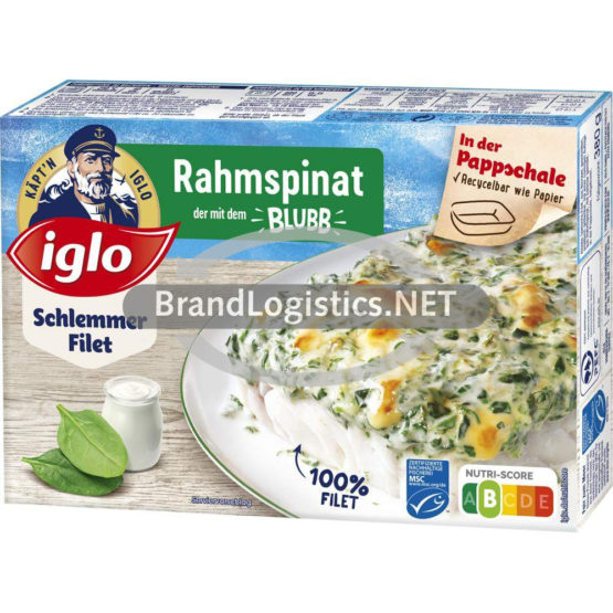 iglo Schlemmer-Filet Rahmspinat 380g