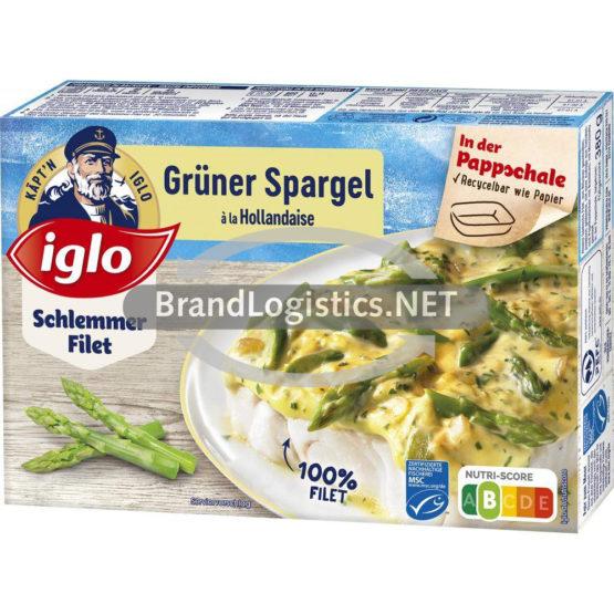 iglo Schlemmer-Filet Grüner Spargel 380 g