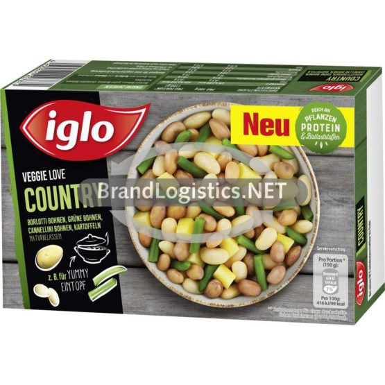 iglo Veggie Love Country 400g