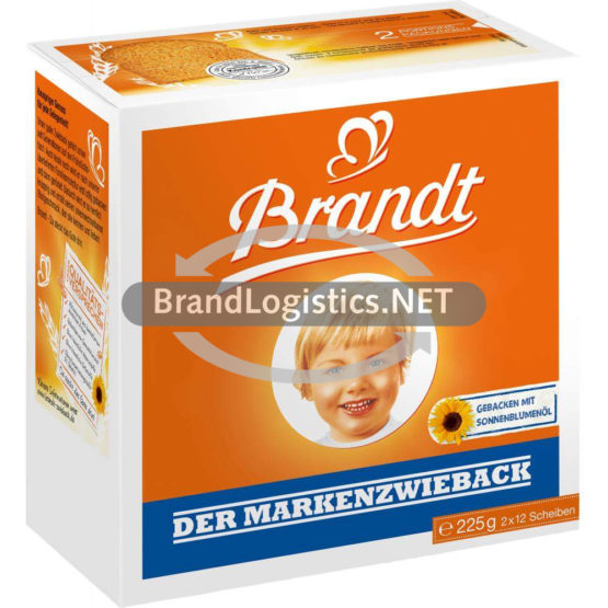 Brandt Der Markenzwieback 225g
