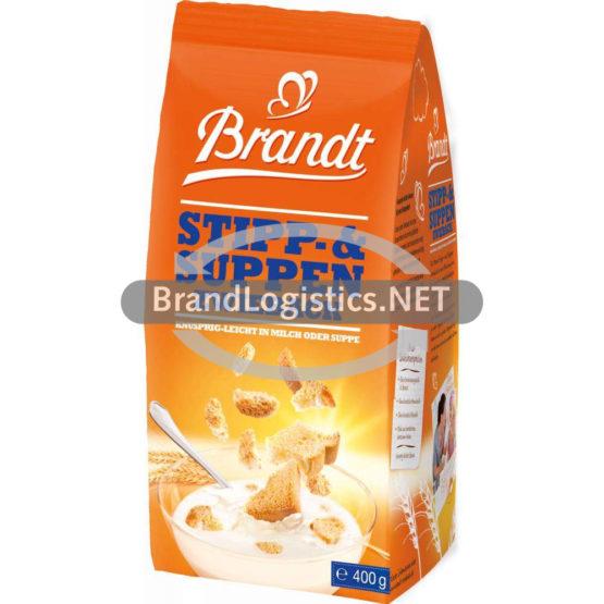 Brandt Stipp-und Suppenzwieback 400 g