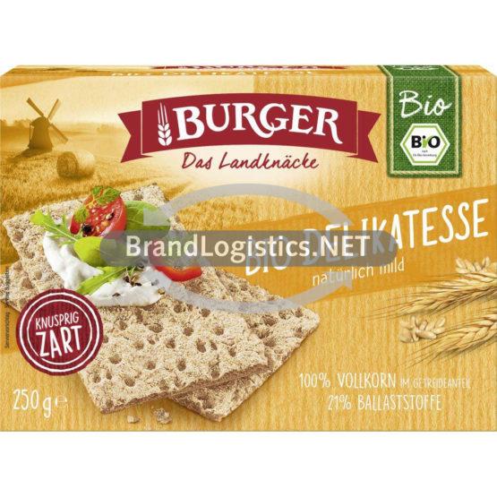 Burger Bio-Knäcke Delikatesse 250 g
