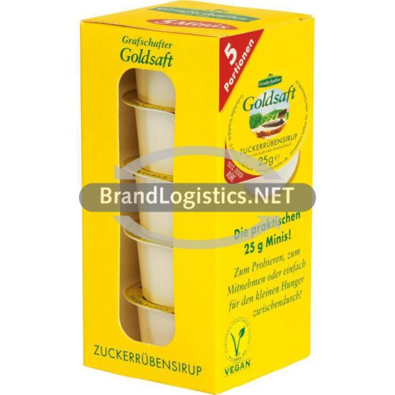 Grafschafter Goldsaft Minibox 5 x 25 g