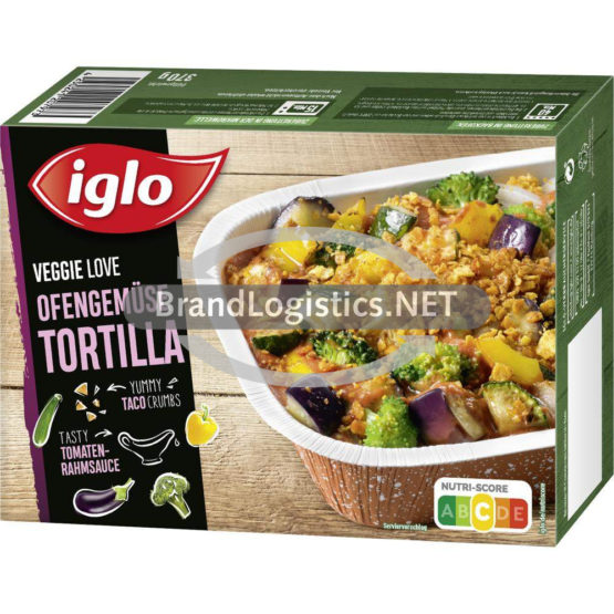iglo Veggie Love Ofengemüse Tortilla 370 g
