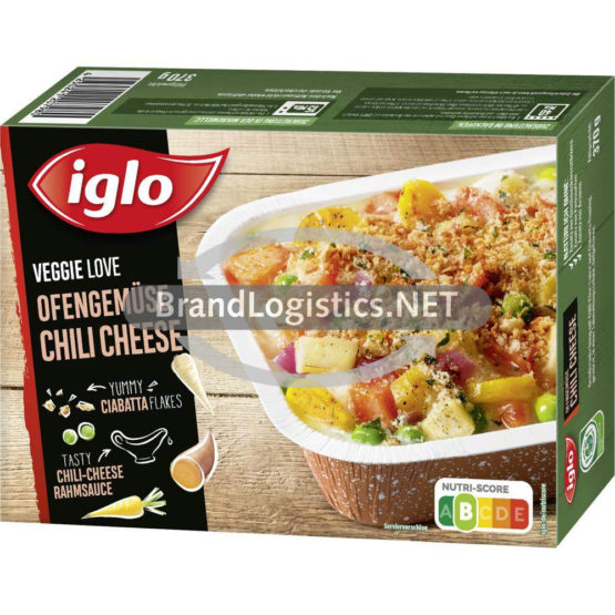 iglo Veggie Love Ofengemüse Chili Cheese 370 g