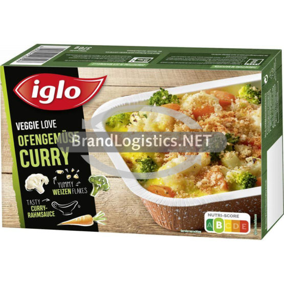 iglo Veggie Love Ofengemüse Curry 370 g