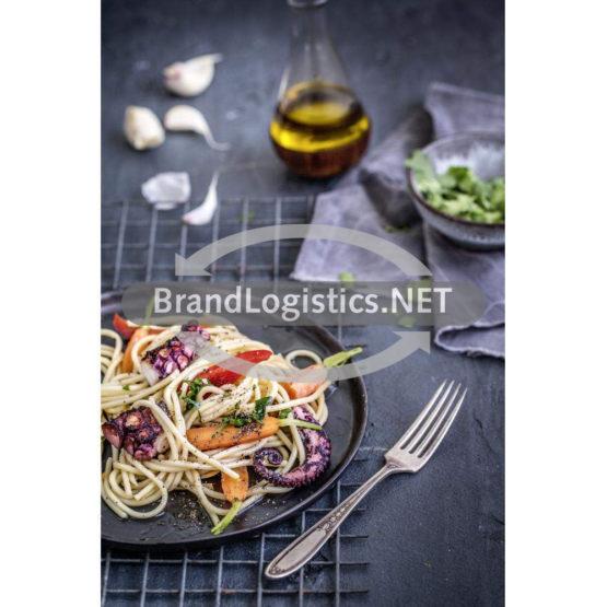 Spaghetti mit gegrilltem Pulpo