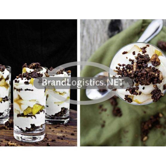Pumpernickel-Dessert mit Mascarpone & Birne