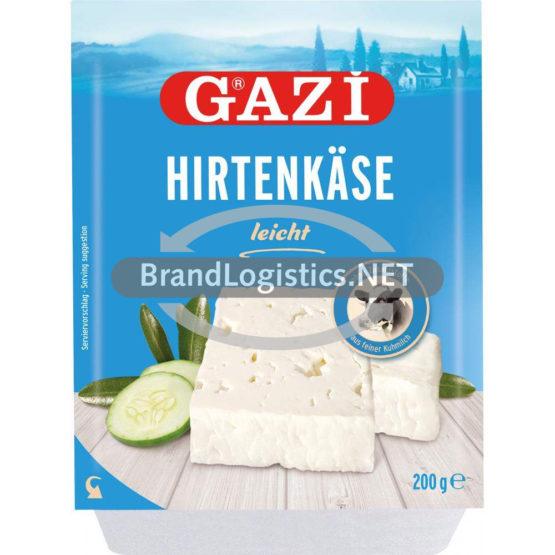 """GAZi Hirtenkäse """"leicht"""" 30% 200g"""