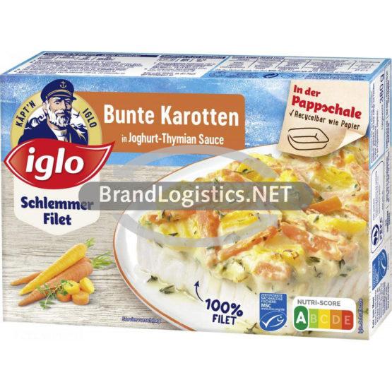 iglo Schlemmer-Filet Bunte Karotten 380g