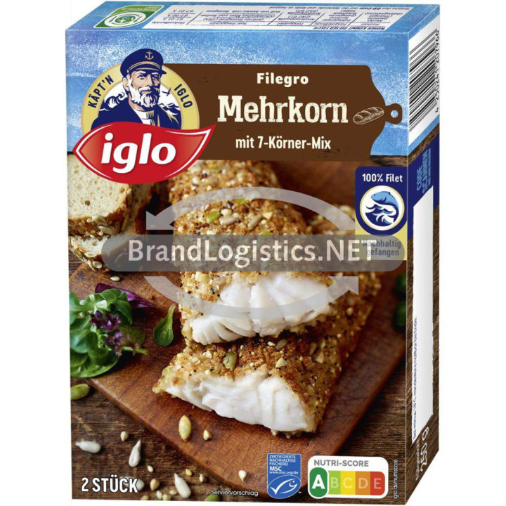 iglo Filegro Mehrkorn-Panade 250g