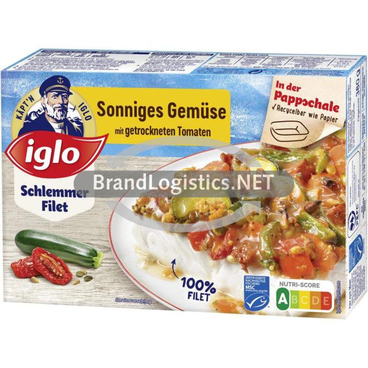 iglo Schlemmer-Filet Sonniges Gemüse 380 g