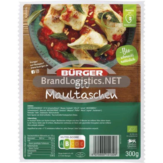 Bürger Bio-Maultaschen 300g