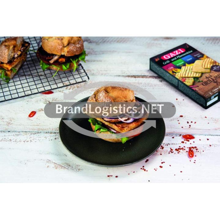 GAZİ Grillkäseburger mit Chilisoße