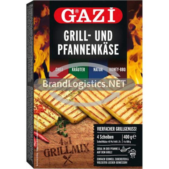 GAZİ Grill- und Pfannenkäse 4 in 1 Grillmix 400g