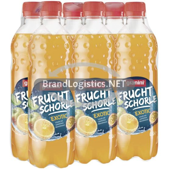 granini Fruchtschorle Exotic 6×0,5l