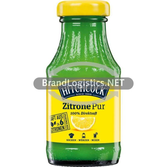 HITCHCOCK Zitrone Pur 0,2l