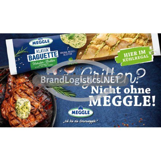 Meggle Kräuterbutter-Baguette Grillen Waagengrafik 800×468