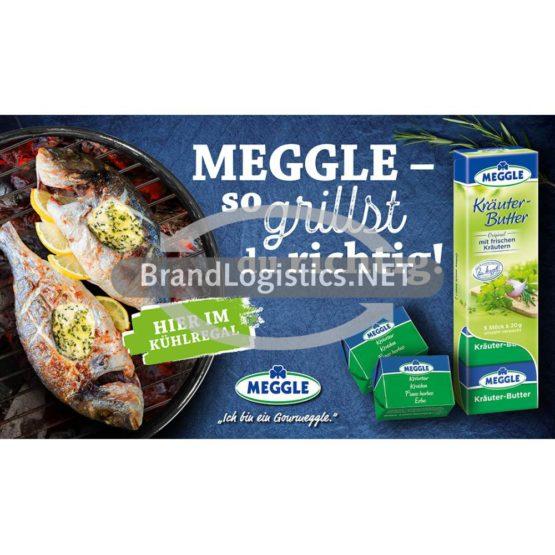 Meggle Kräuter-Butter Riegel zu Fisch Grillen Waagengrafik 800×468