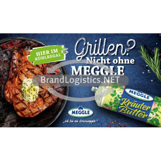 Meggle Kräuter-Butter zu Fleisch Grillen Waagengrafik 800×468