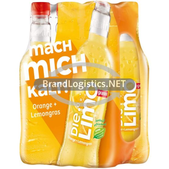 granini Die Limo Orange + Lemongras 6×0,5l