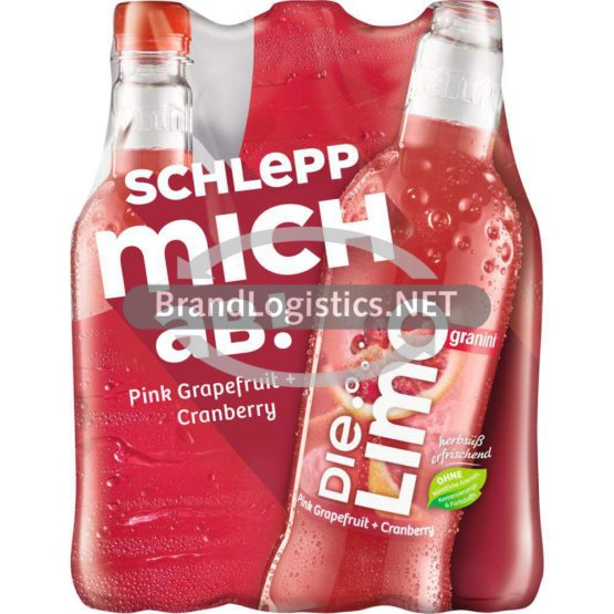 granini Die Limo Pink Grapefruit + Cranberry 6×0,5l