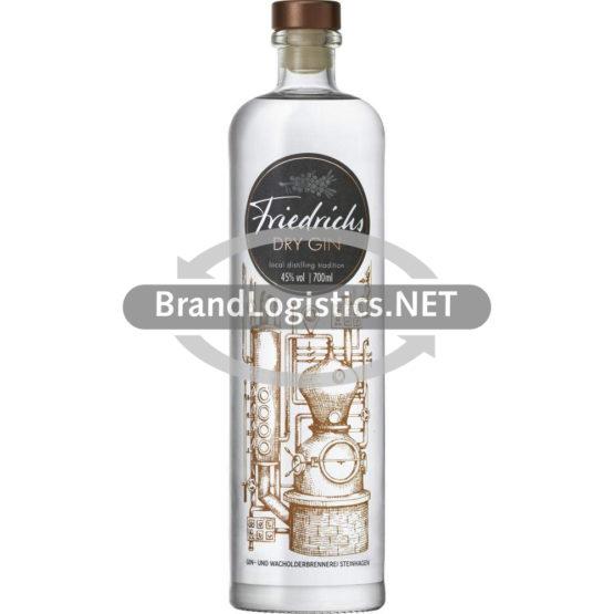 Friedrichs Dry Gin 45% vol. 0,7 l