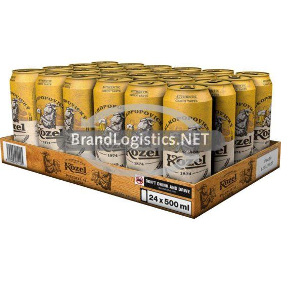 Kozel Premium Lager Dosentray 24×0,5l
